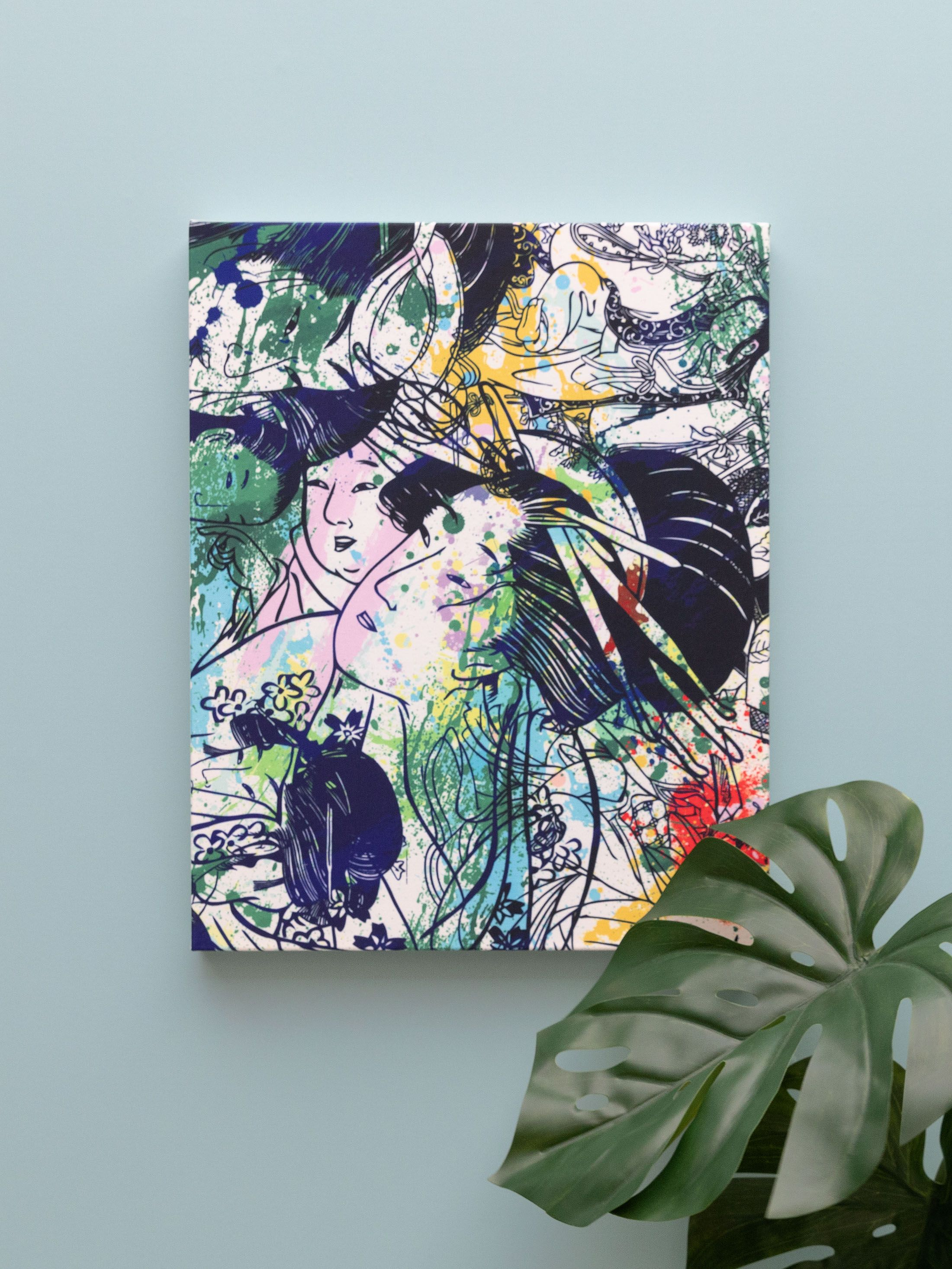 canvas prints custom size