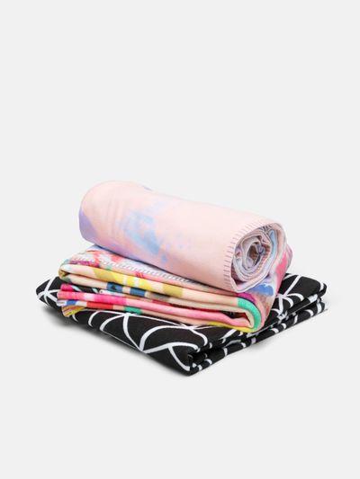 lightweight summer blanket printing