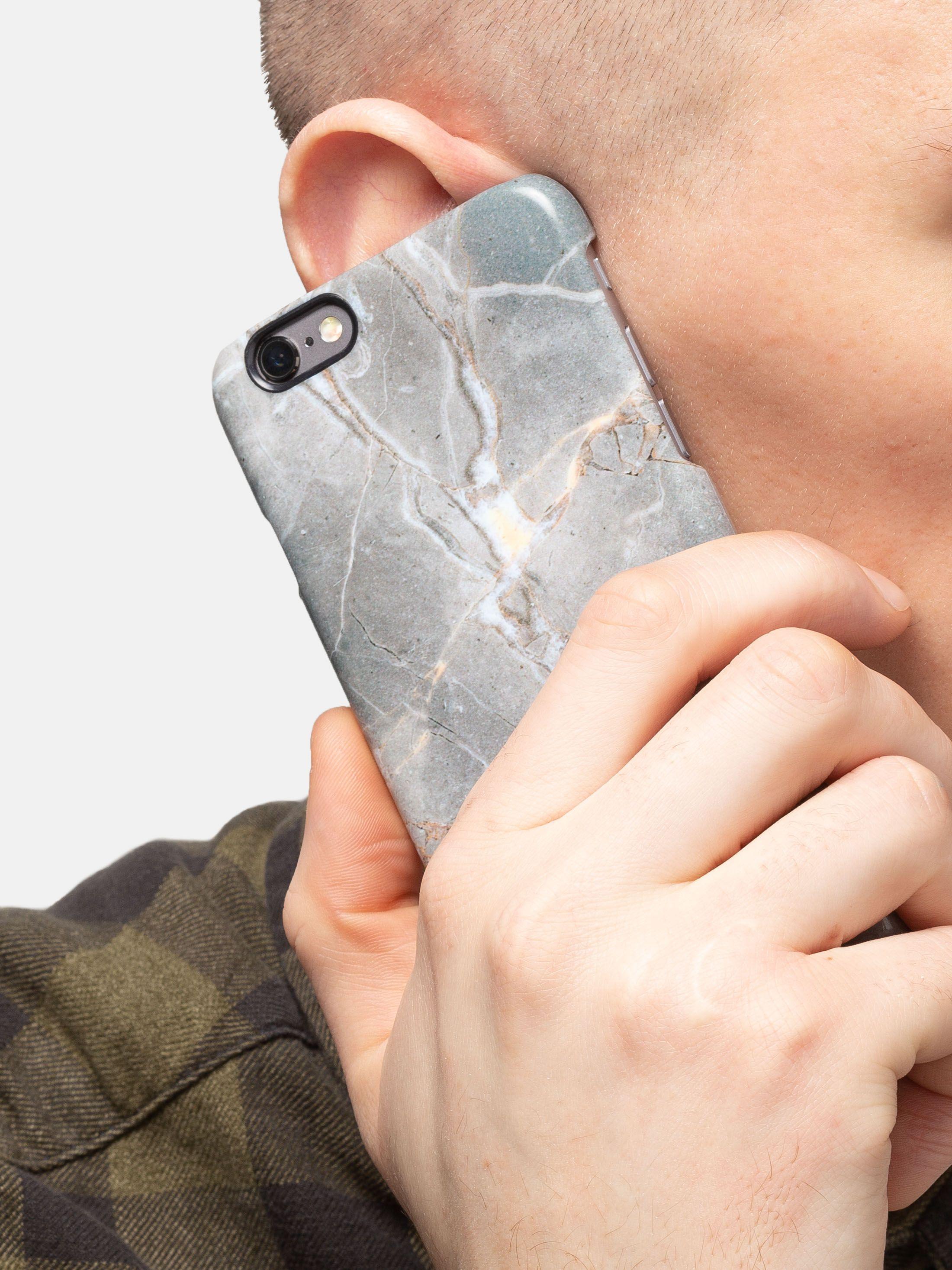 Détail de la coque iPhone 6 originale