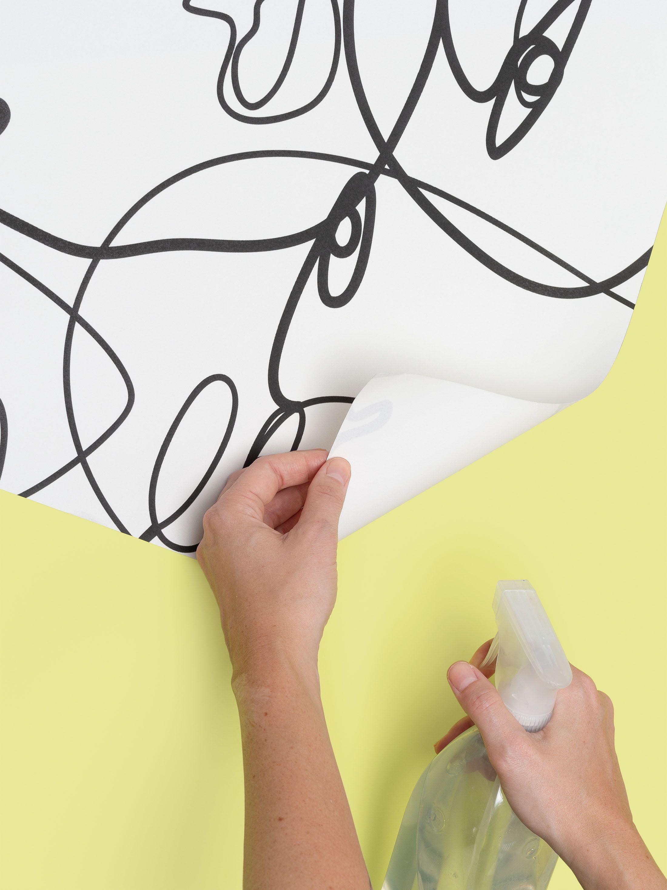 papier peint adhésif