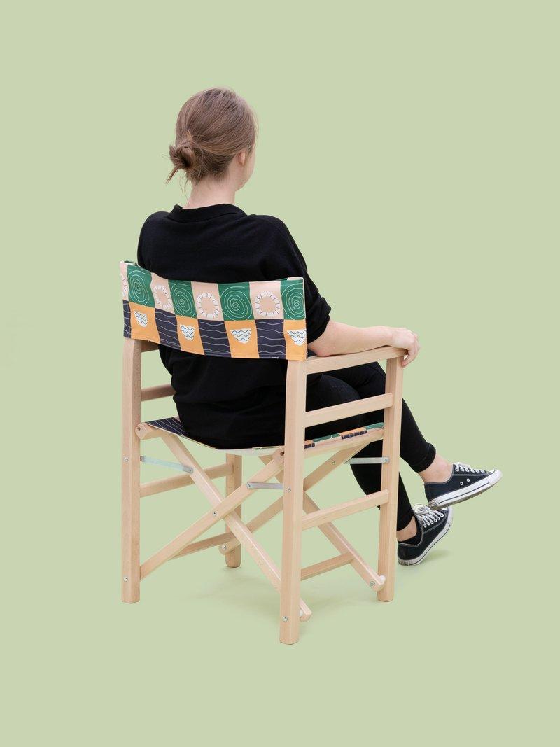 custom directors chair