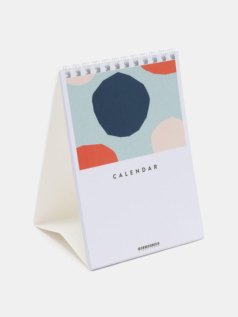 デスクカレンダーにデザイン印刷