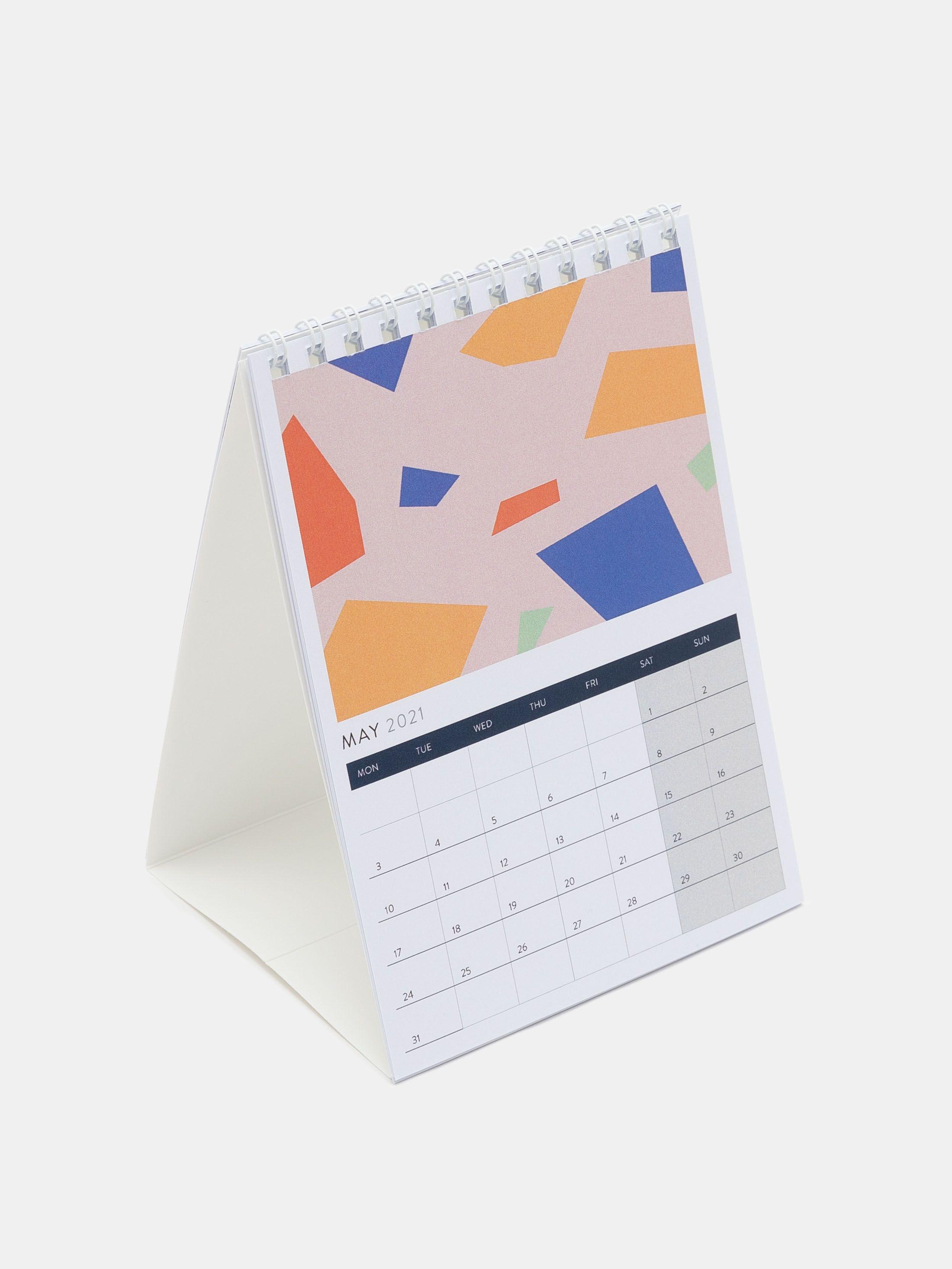 2021年オリジナル卓上カレンダー