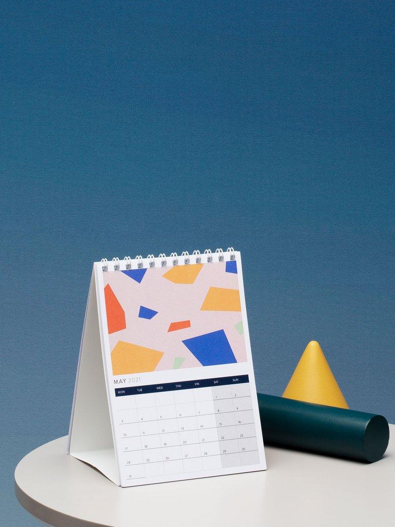 デスクカレンダー プリント