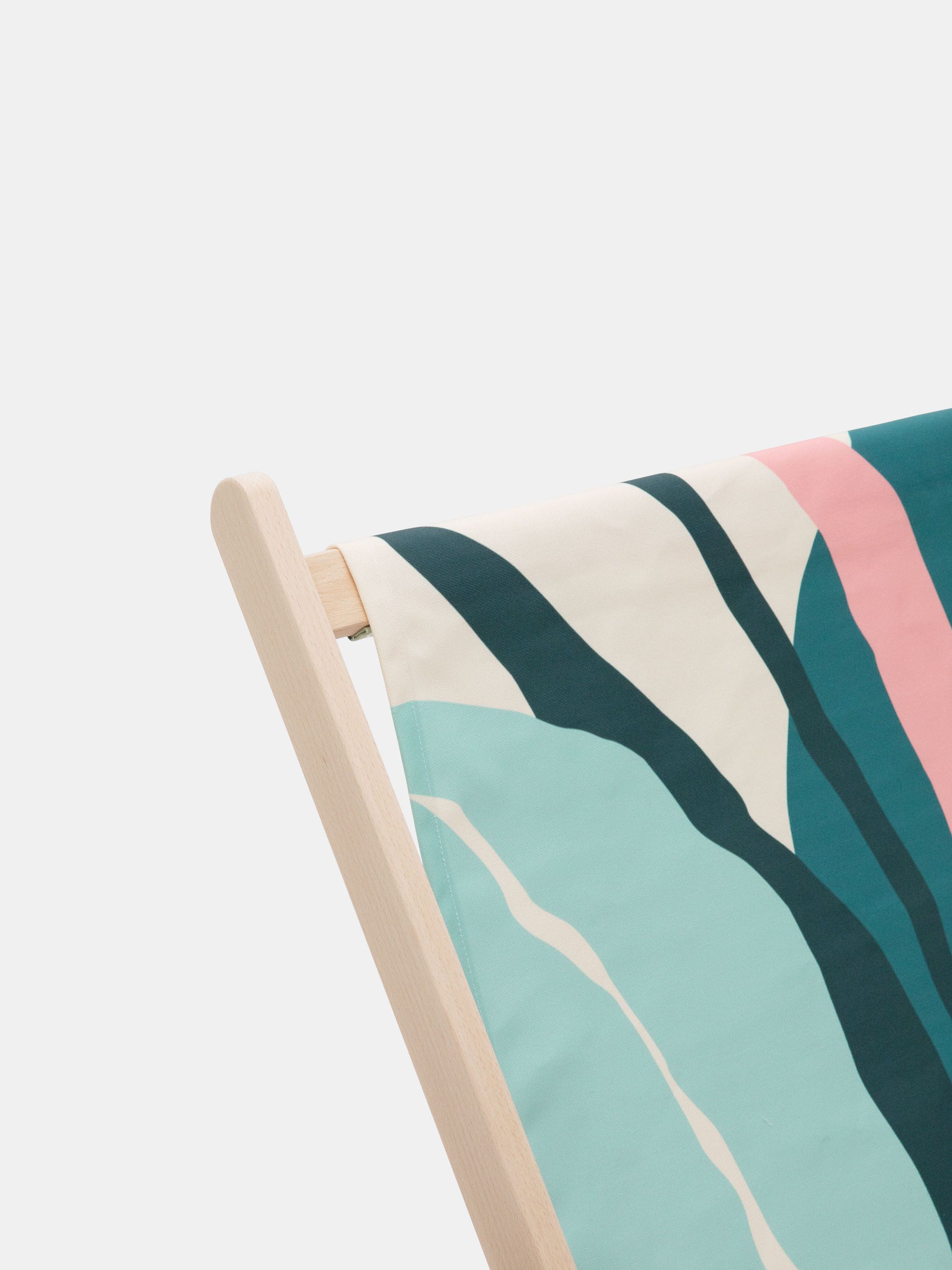 custom printed double deckchair