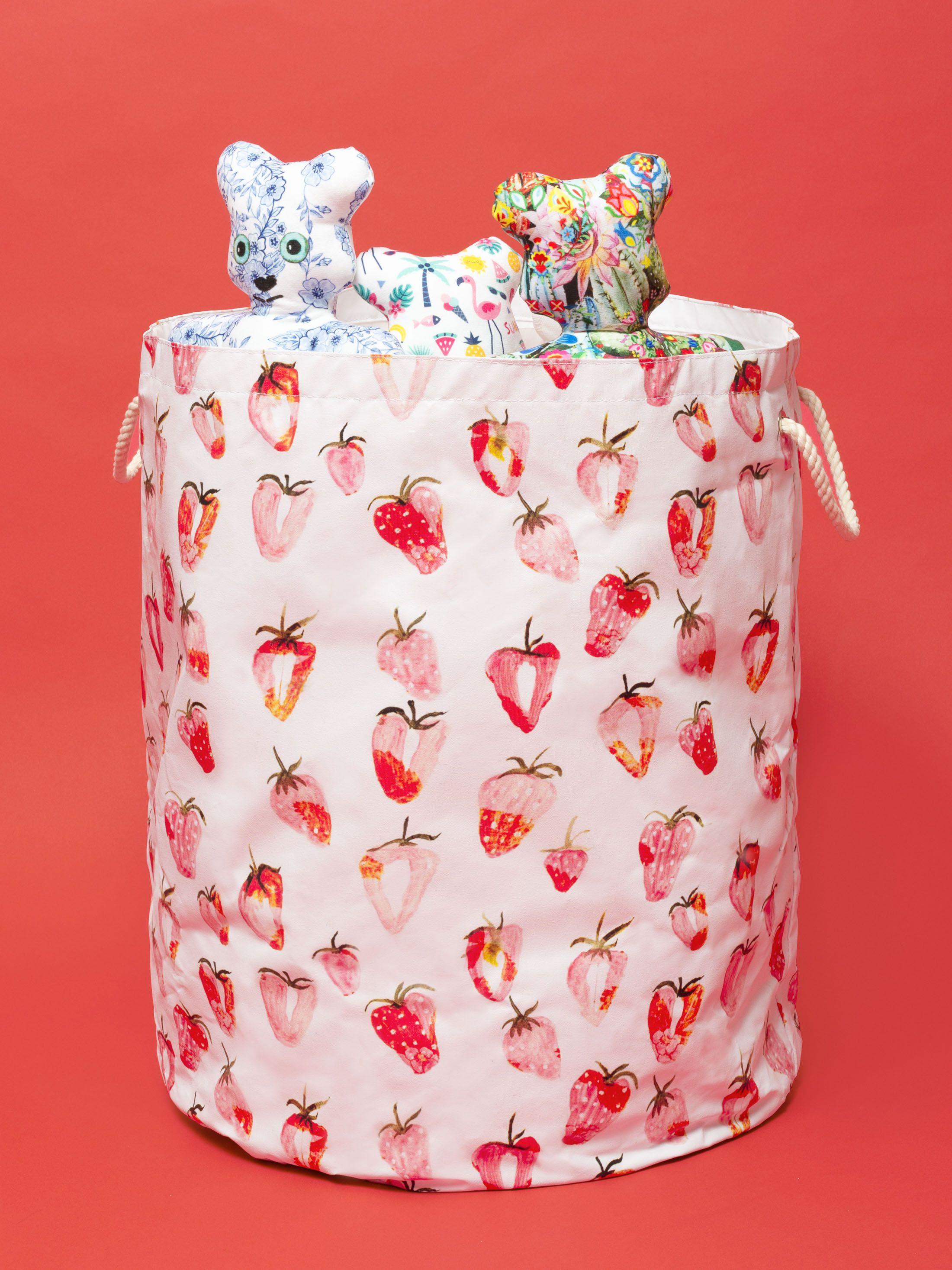 デザイン印刷 おもちゃ収納バッグ