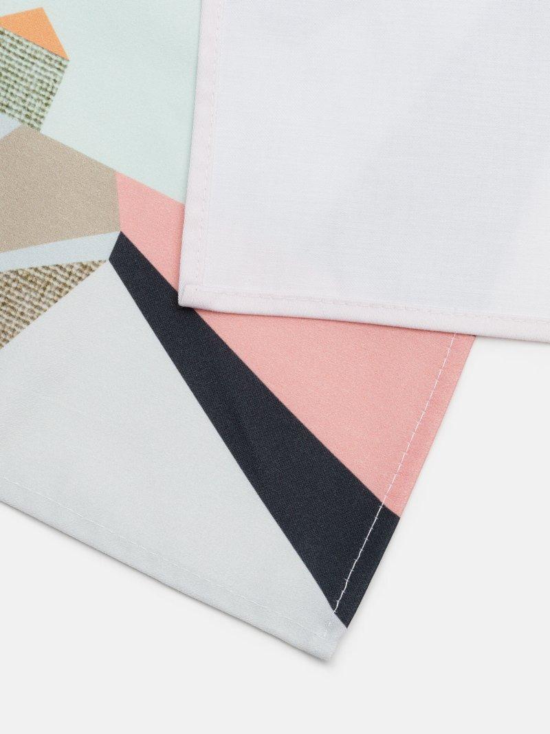 printed napkins edge