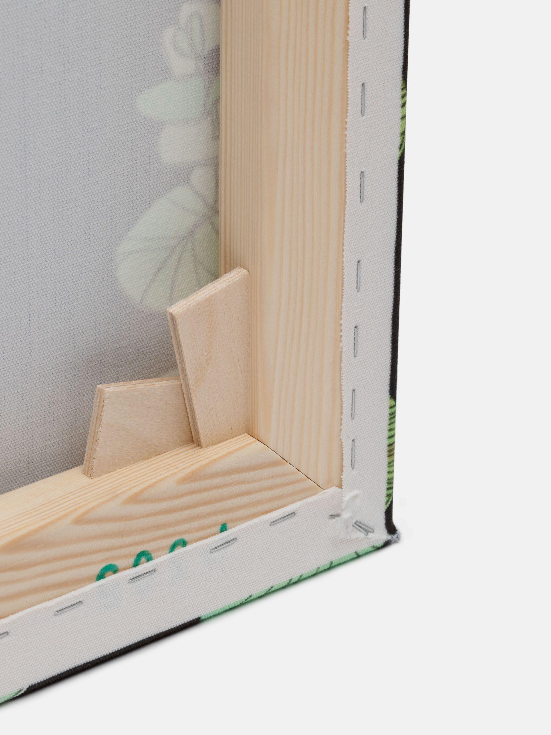 3つのパネルにオリジナルデザインを印刷