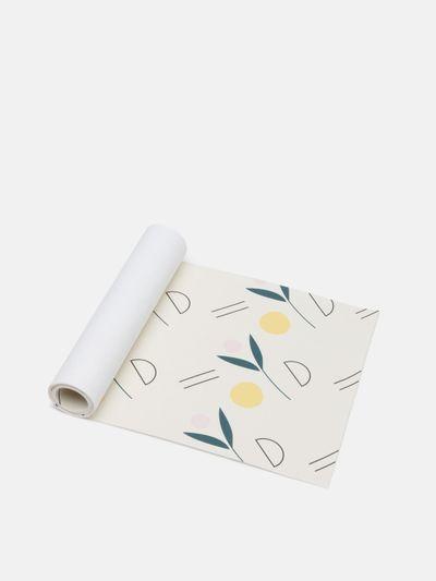 printed wallpaper borders