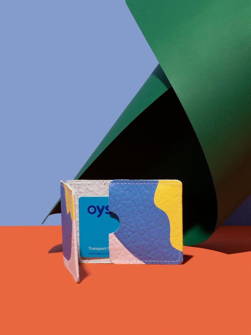 porte-carte de transports imprimé