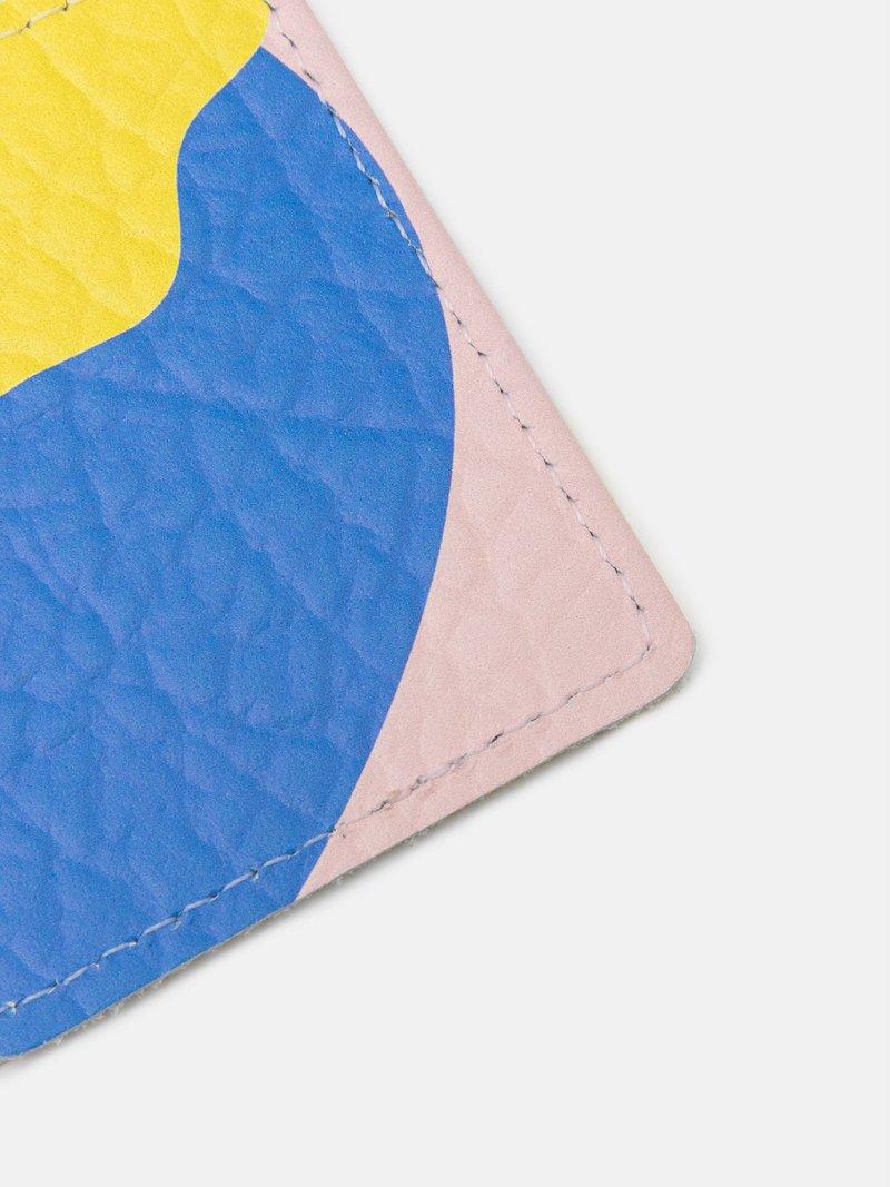 gepersonaliseerde ov-chipkaart houder leer