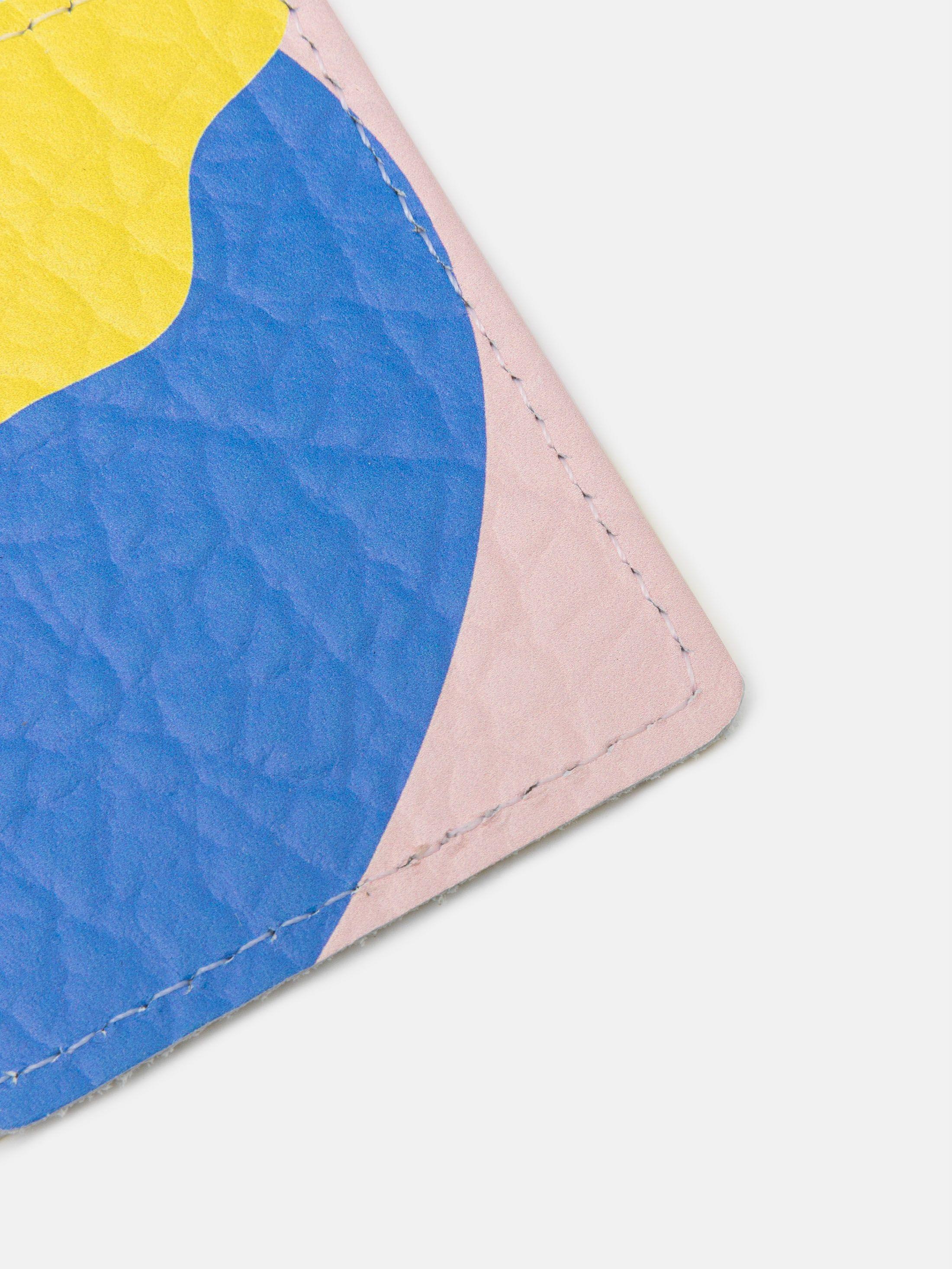 porte-carte de transports en cuir