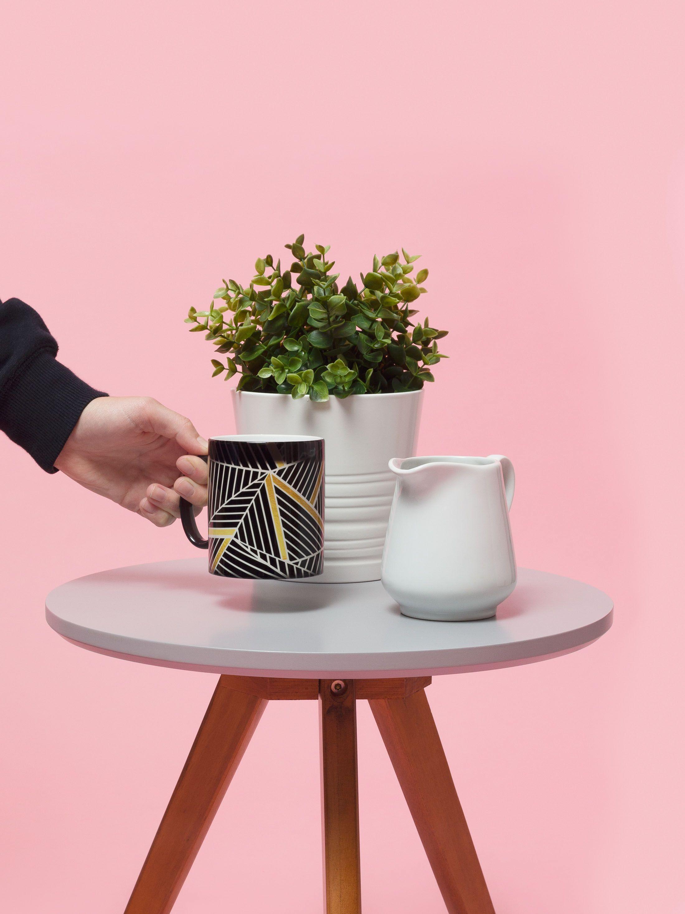 Mug magique révélant le design