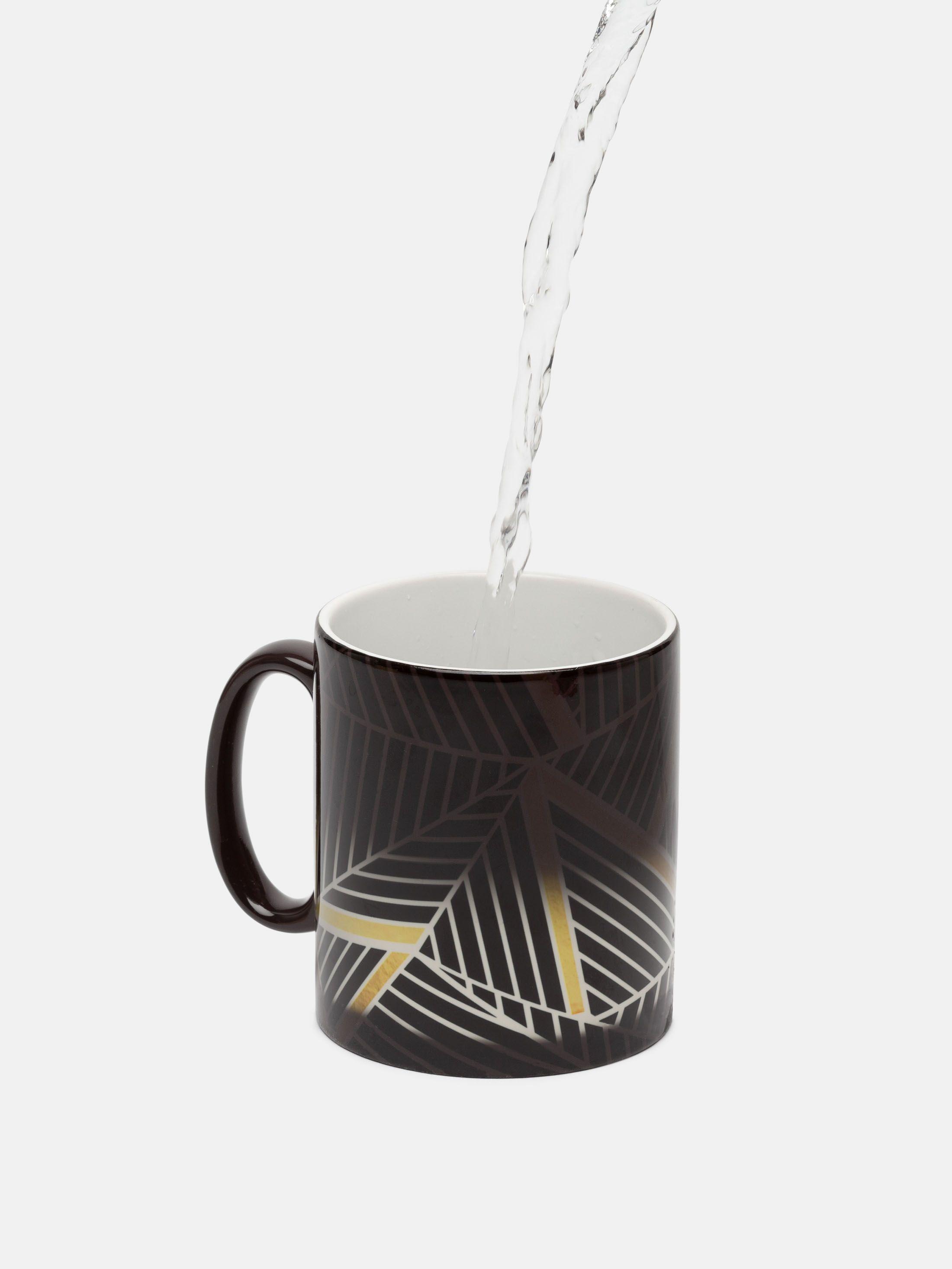 heat changing mugs before