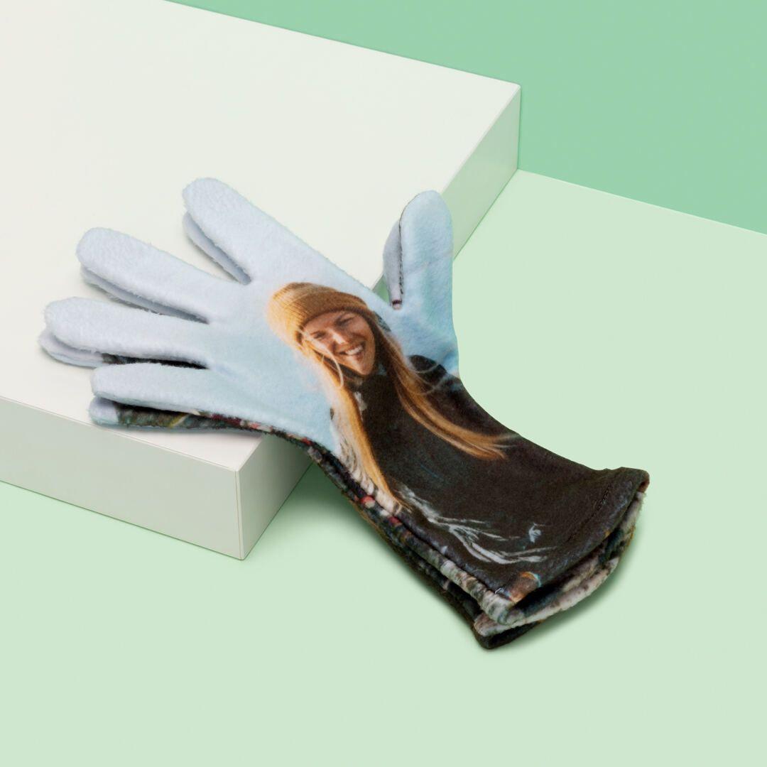 Individuell bedruckte Handschuhe