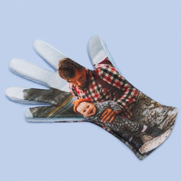 Personalisierte Handschuhe aus Fleece