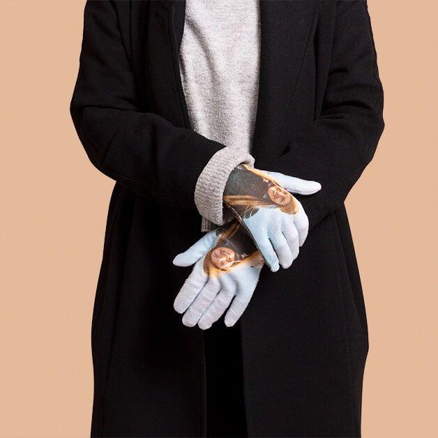 Winterhandschuhe personalisiert mit Fotos