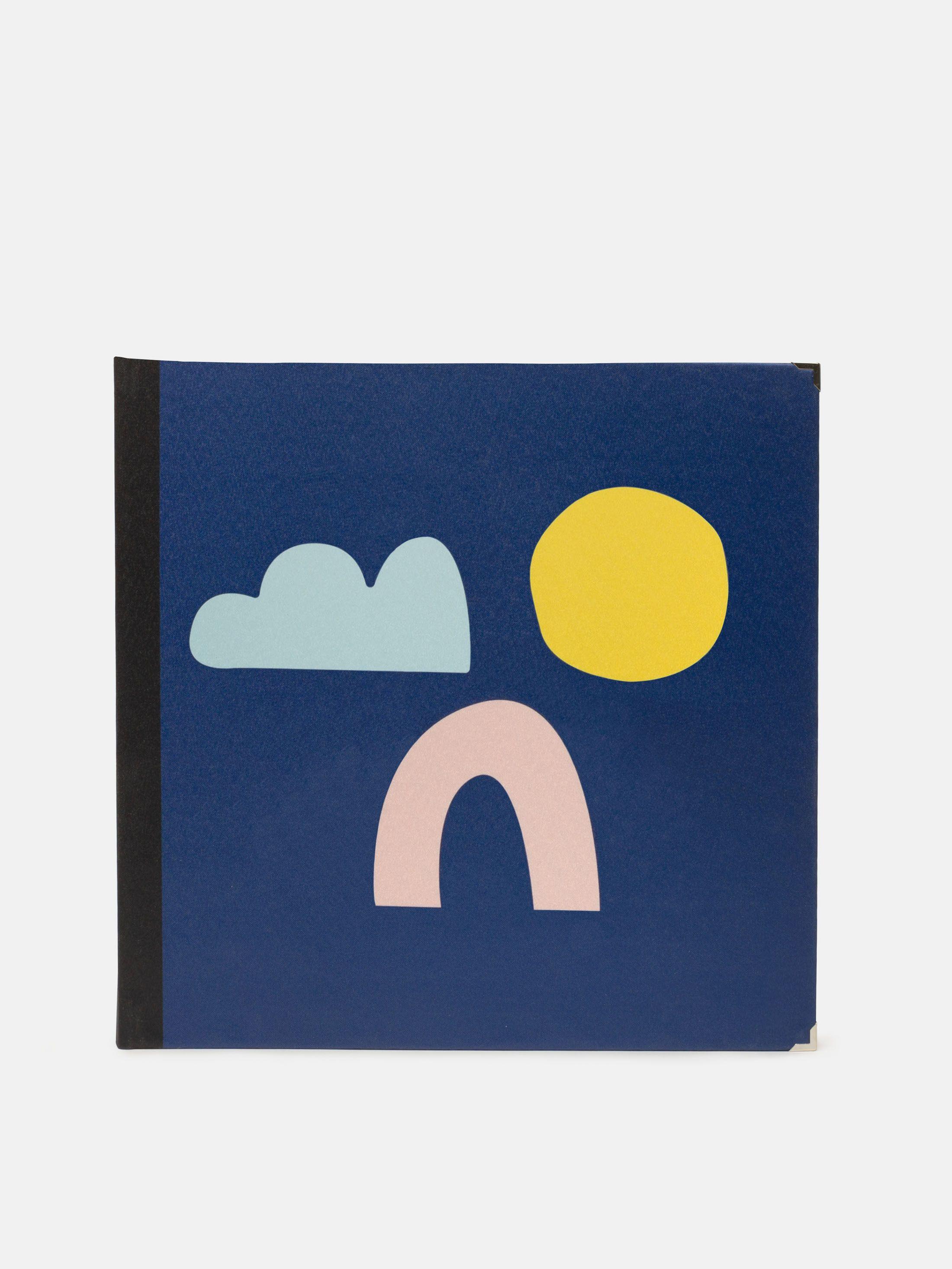 Album scrapbooking couverture design