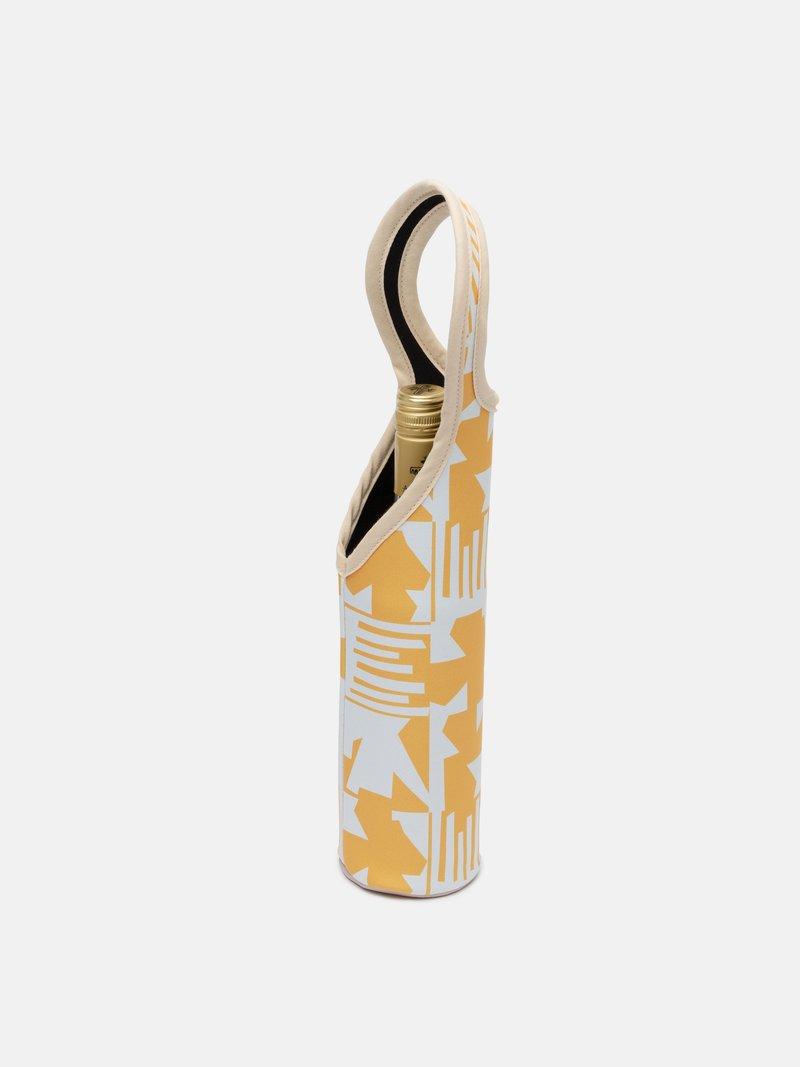 custom neoprene wine tote