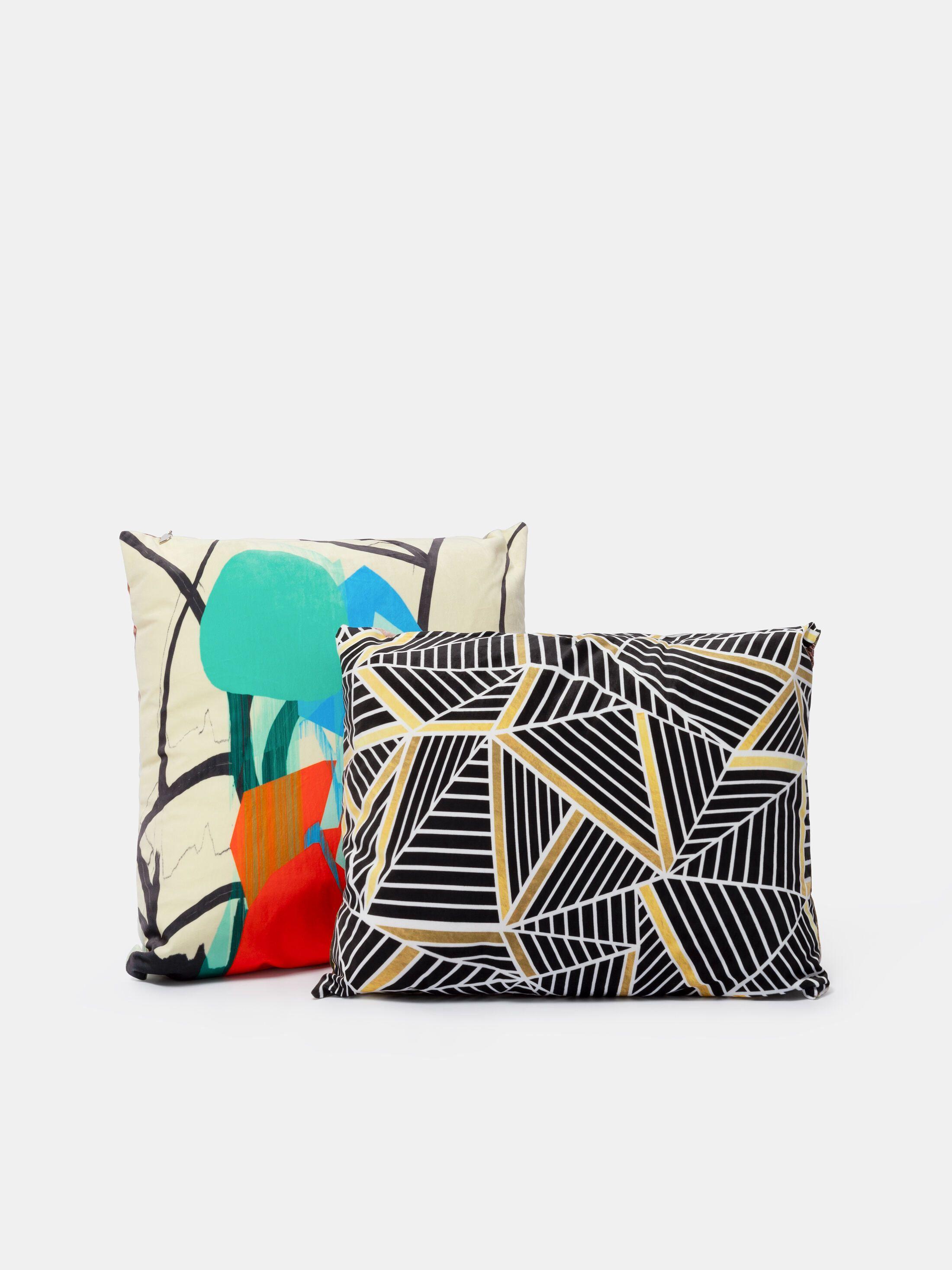 design printed cushions
