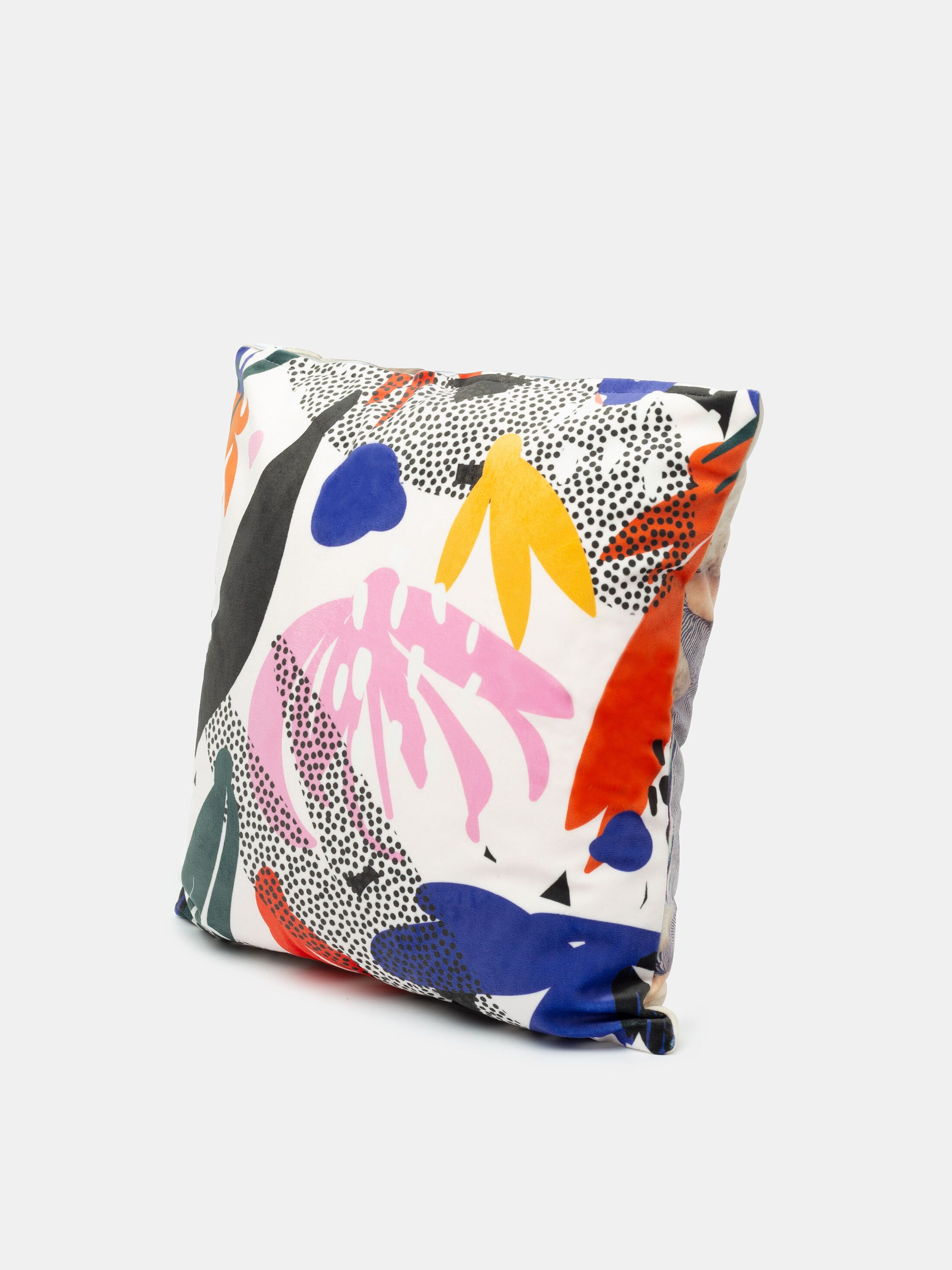 custom throw pillow with logo