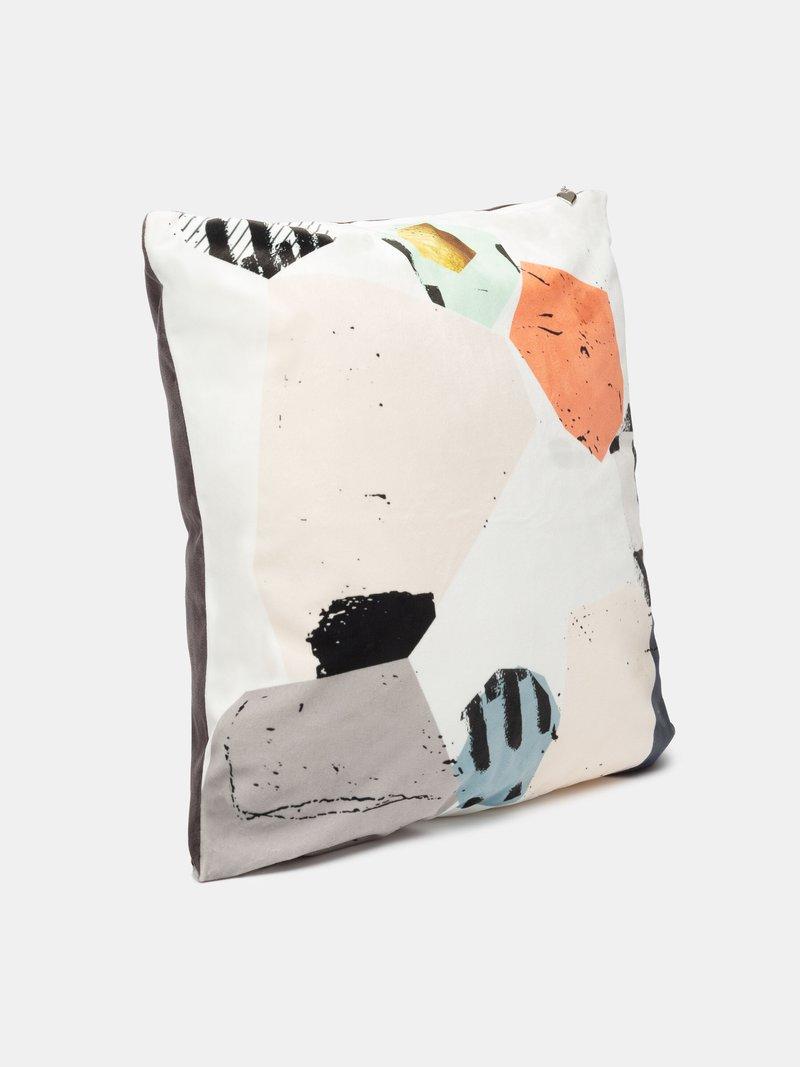 printed throw pillow