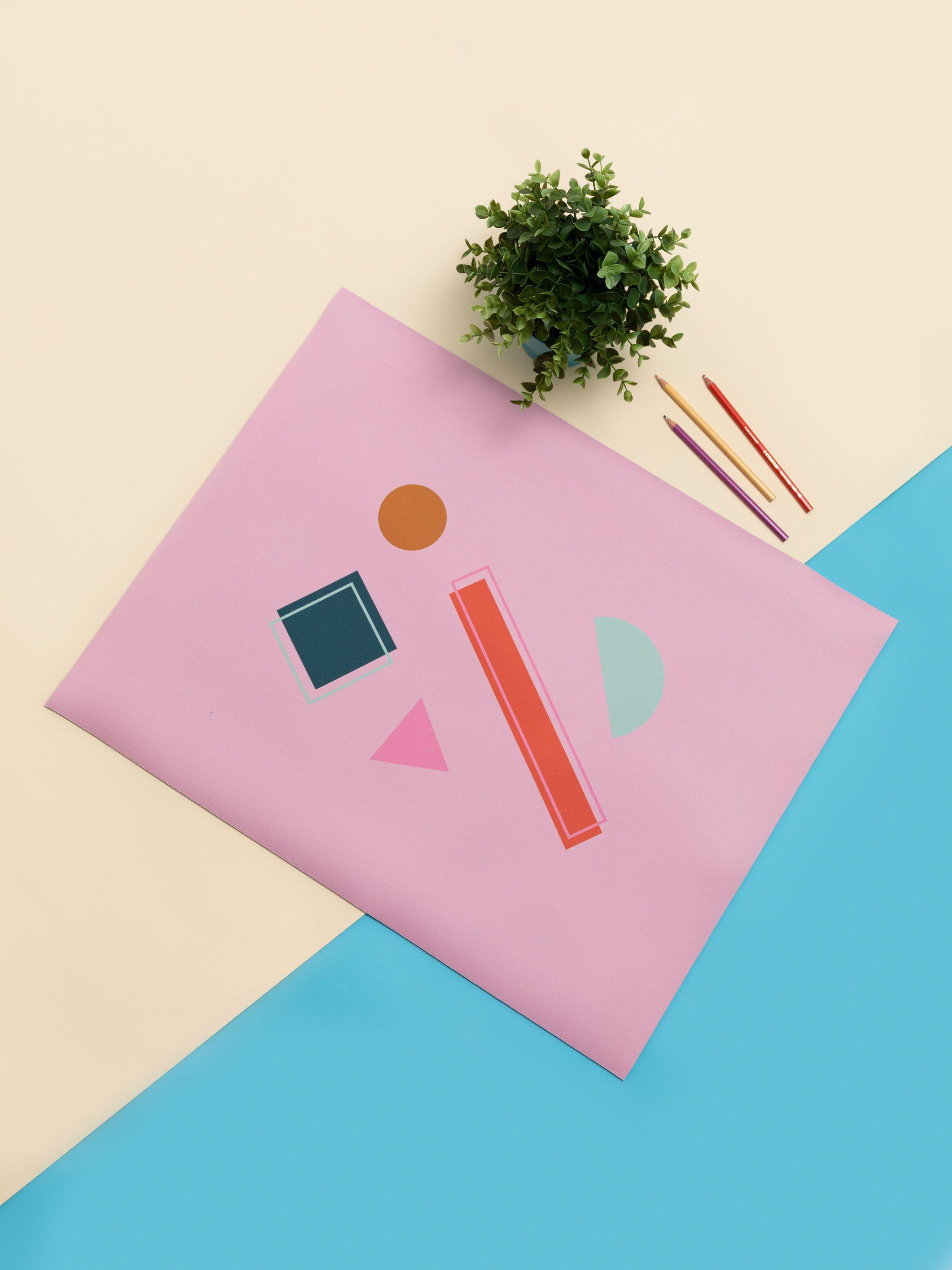 Desk Pad Artists pattern design