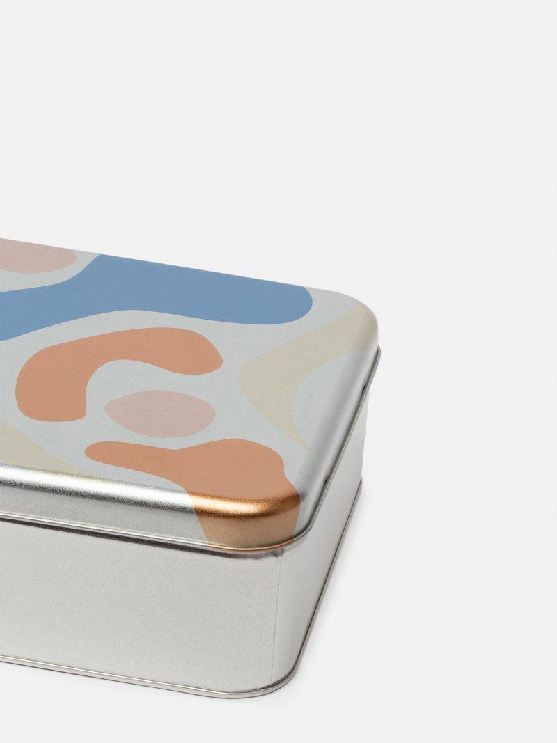 petite boite en métal personnalisée carrée