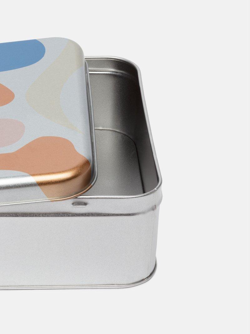Wrap tin lid print