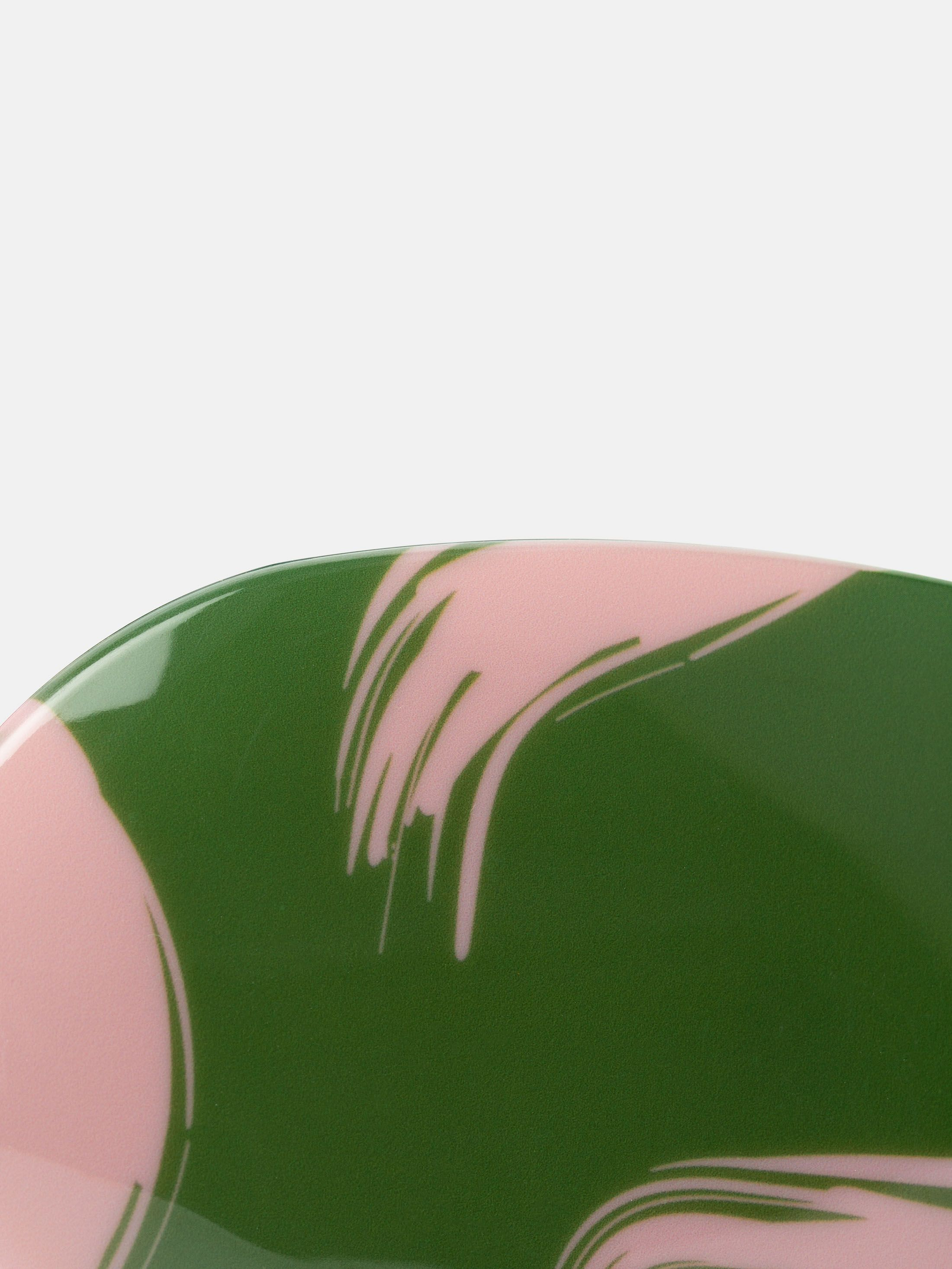 detail griff haarbürste