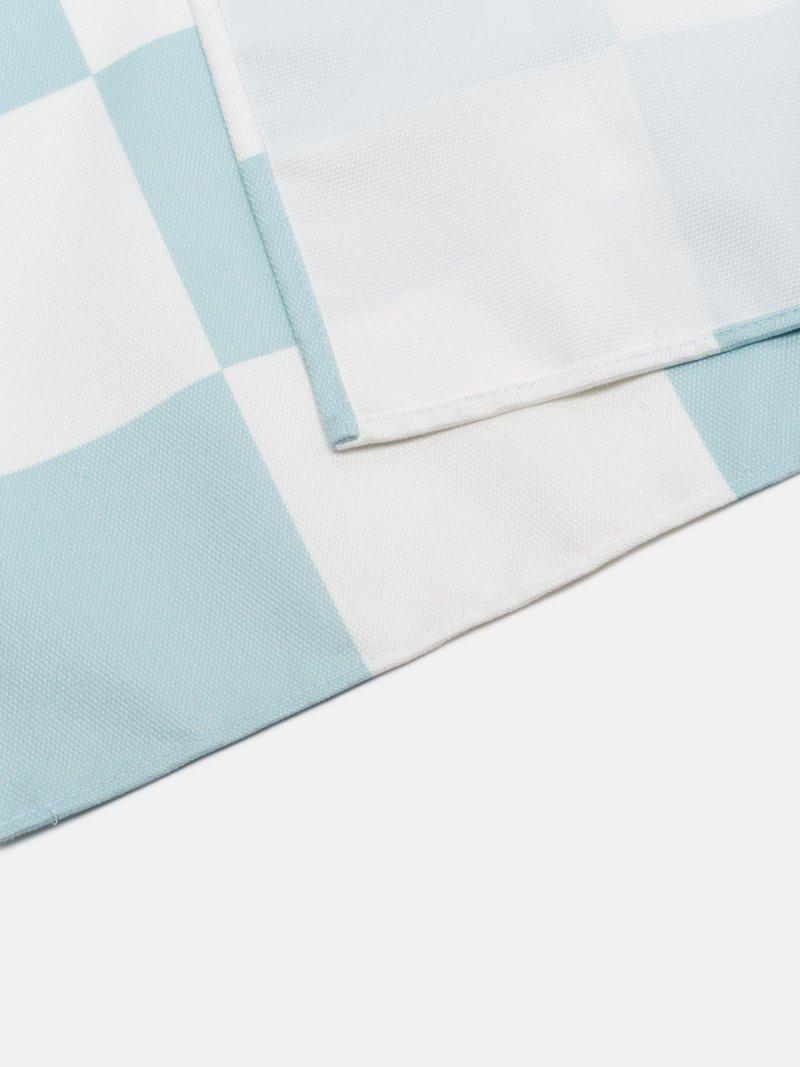 détail tissu nappe