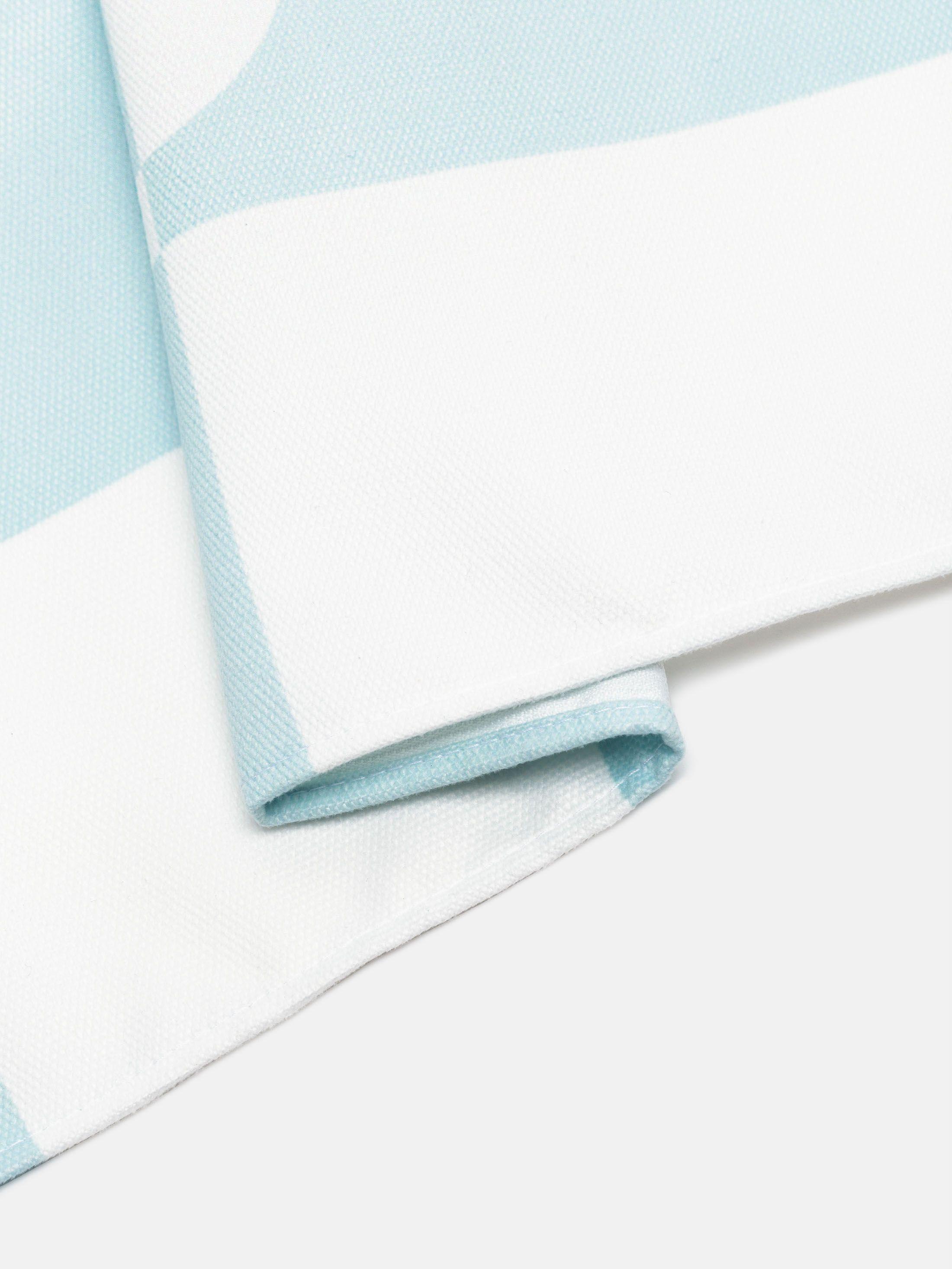 Détails d'impression sur nappe avec design