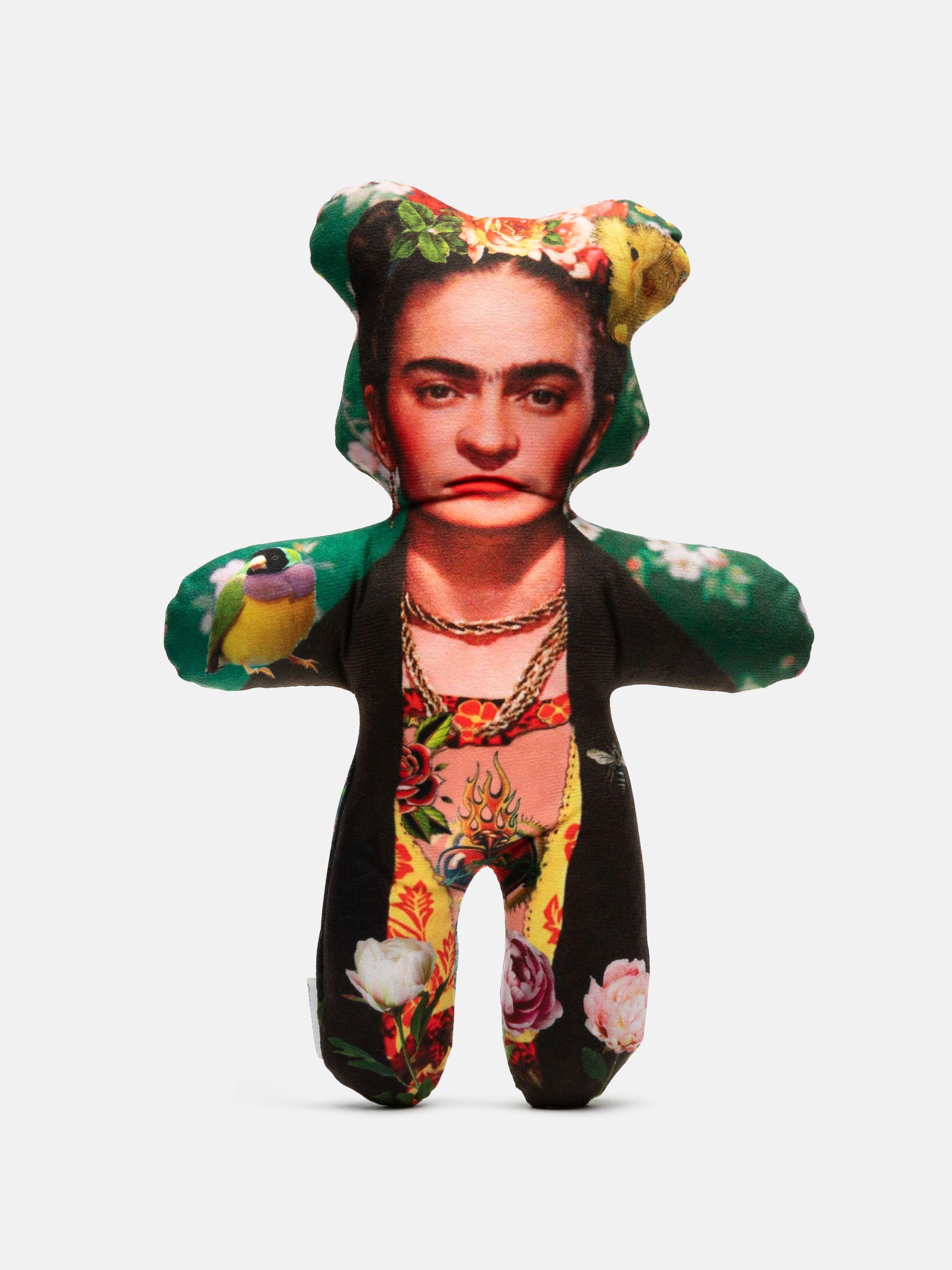 Doudou personnalisable Frida Kahlo