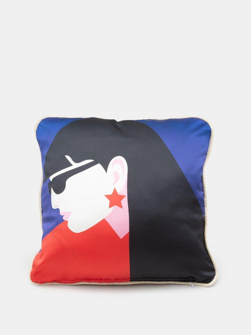 custom silk cushion