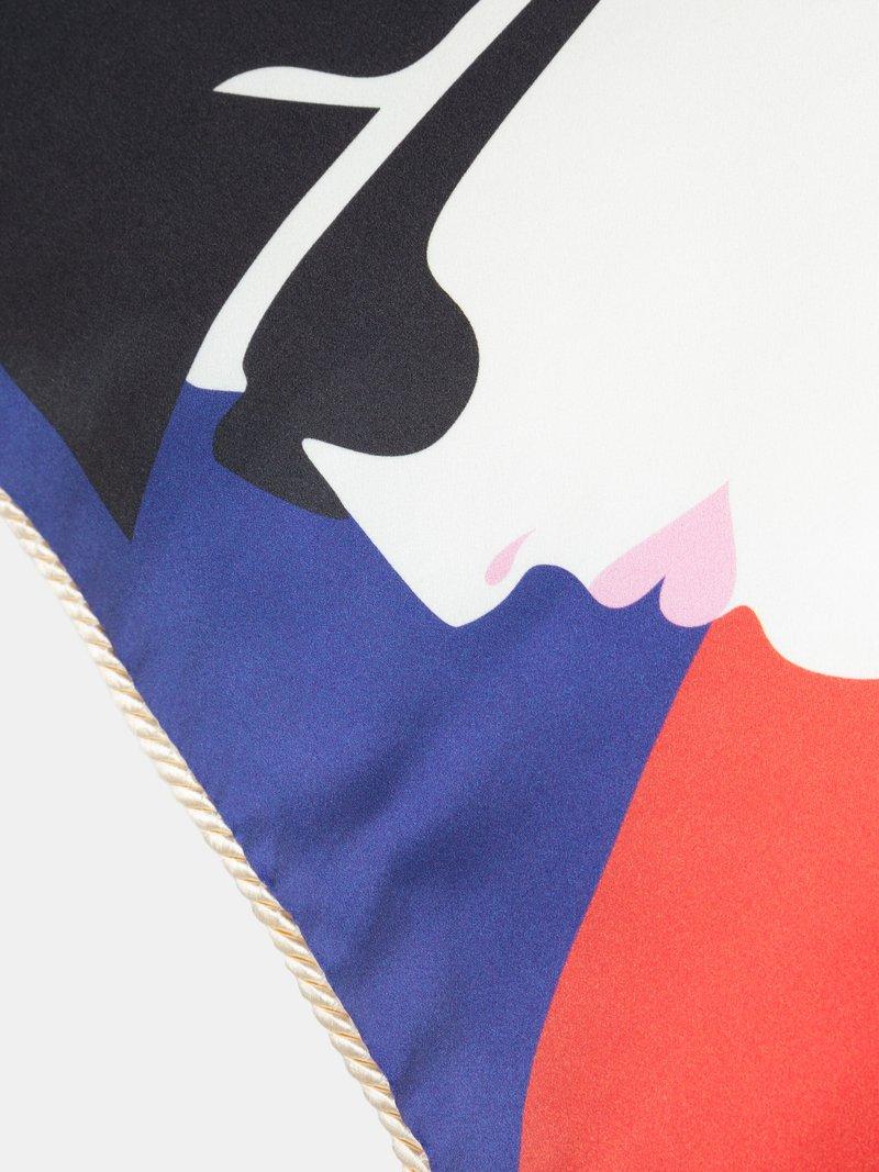luxe zijden kussen bedrukken