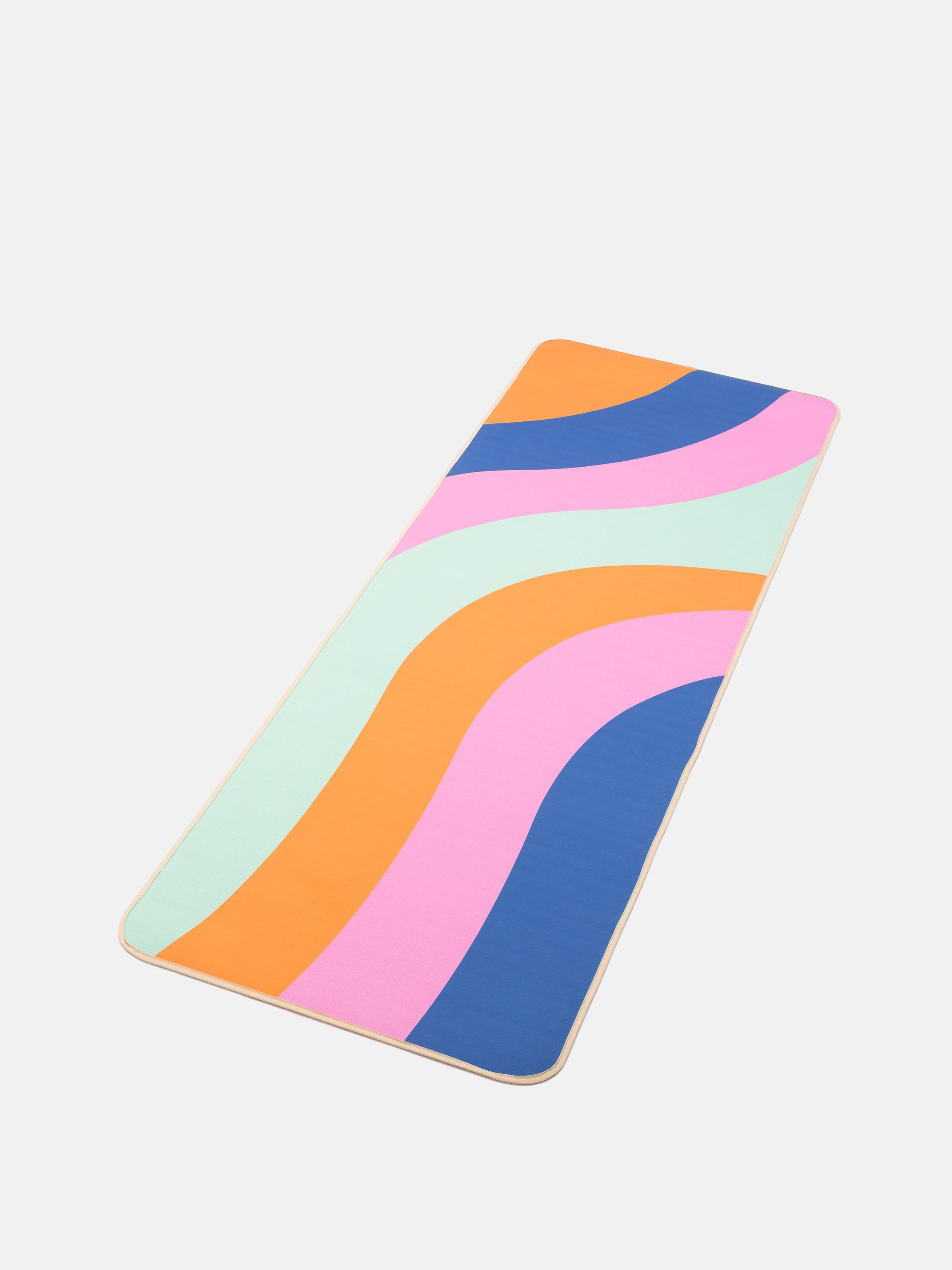 custom printed yoga mats