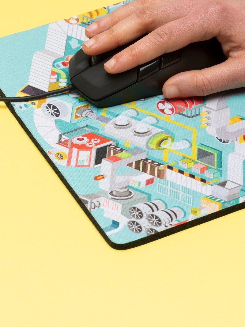 Tapis de souris imprimé avec votre dessin