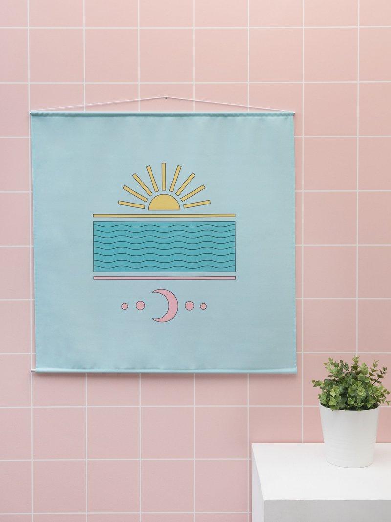 2 choix de tissus pour vos tentures murales décoratives