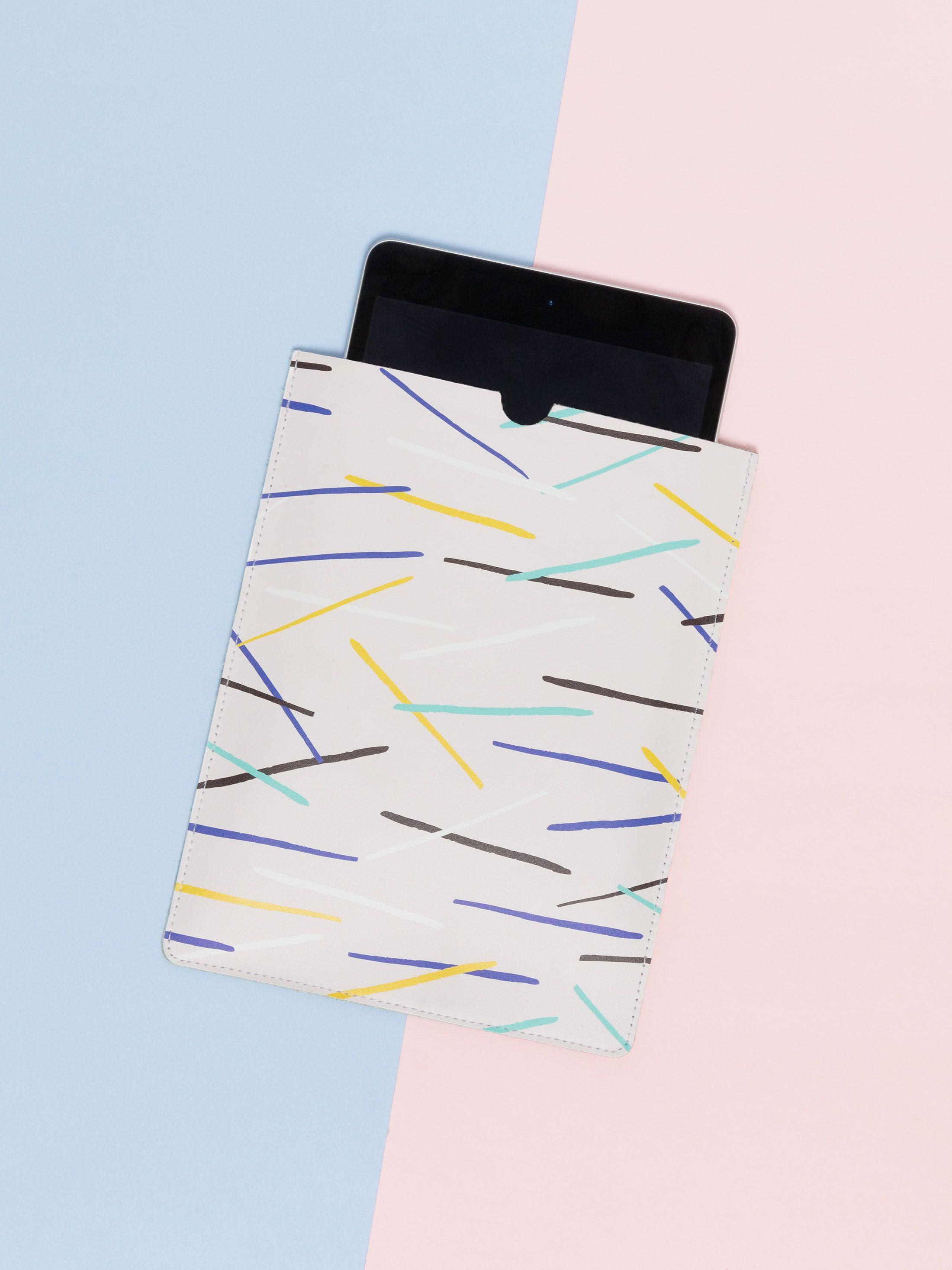 Etui iPad en cuir personnalisé avec votre design