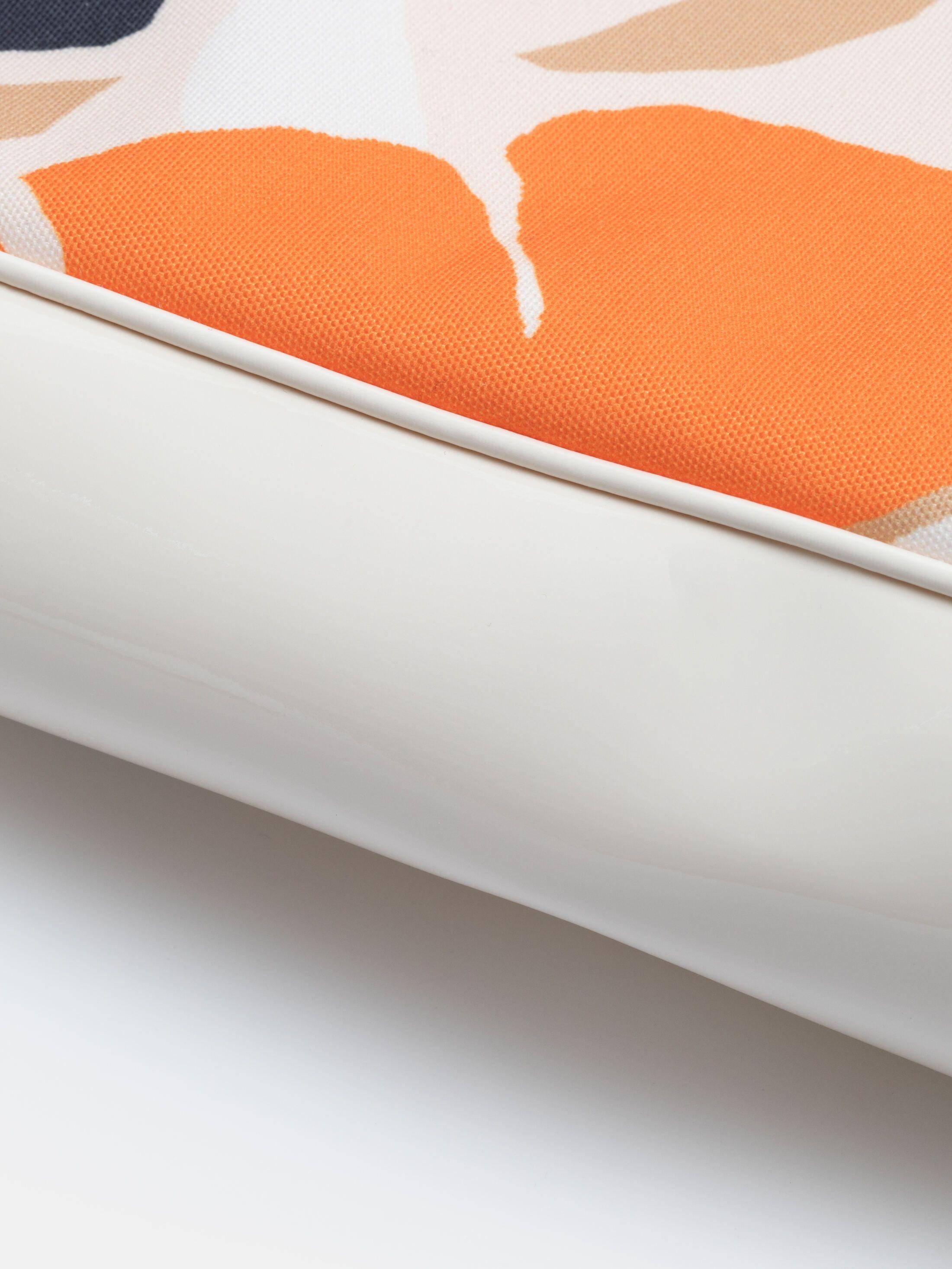 Intérieur du sac de shopping imprimé