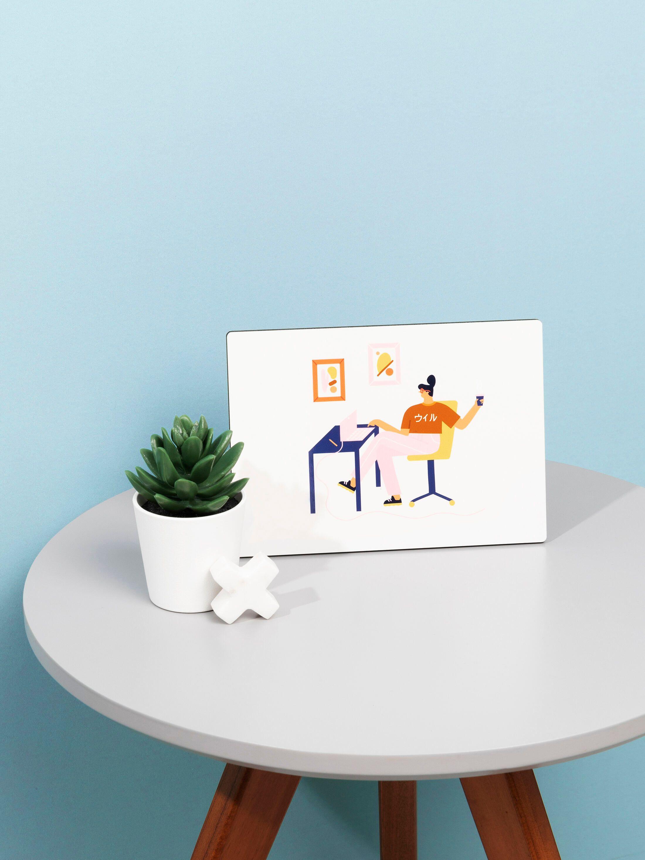 Crea stampa digitale su legno
