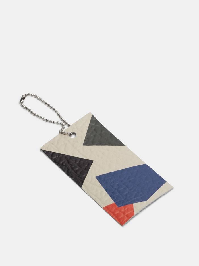 custom printed leather tags