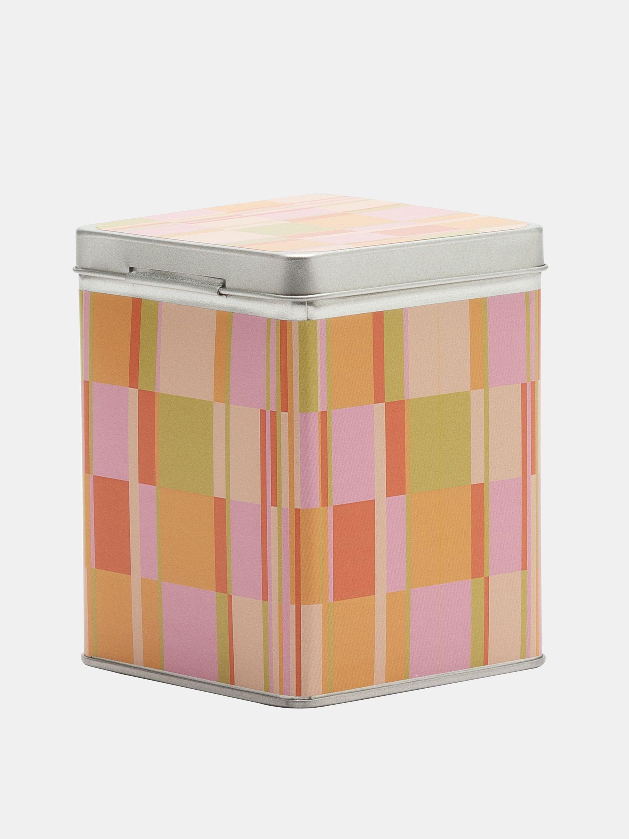 tartan tea storage tins