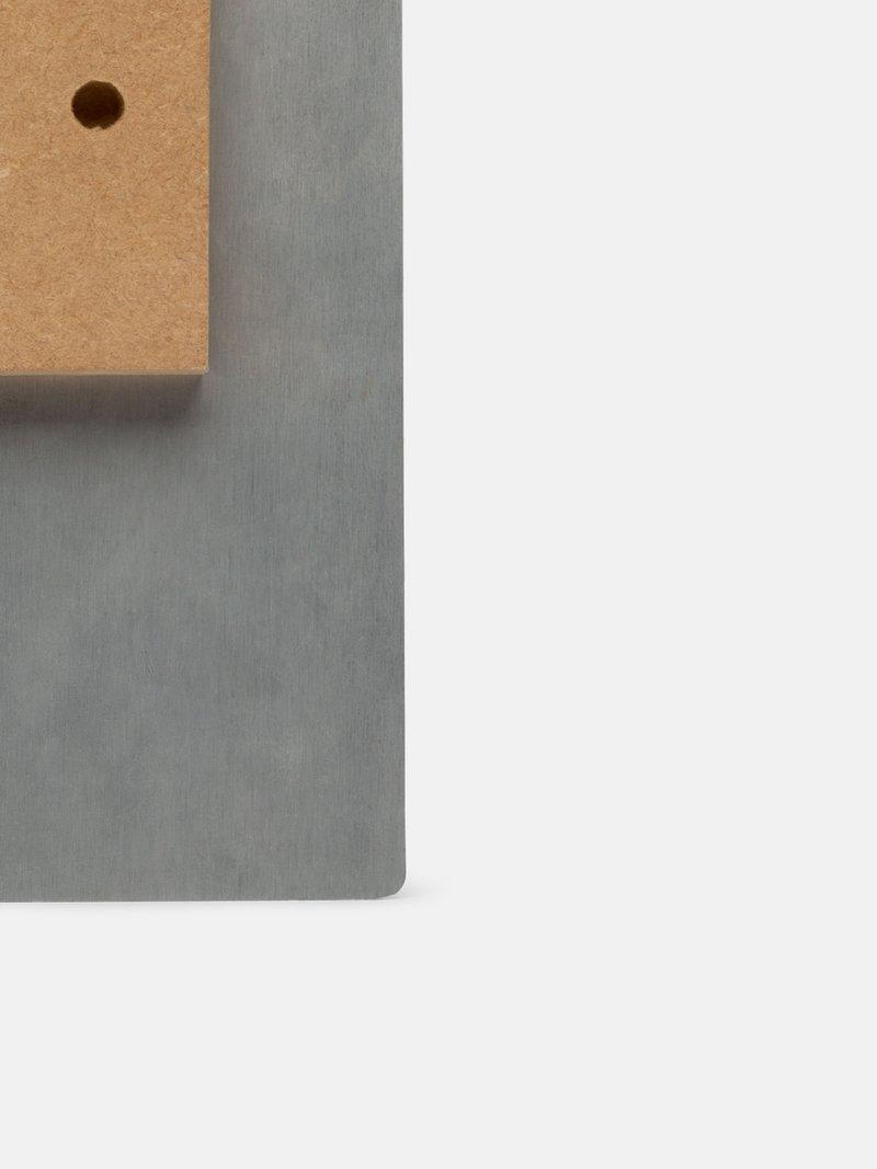 Impression sur plaque en métal