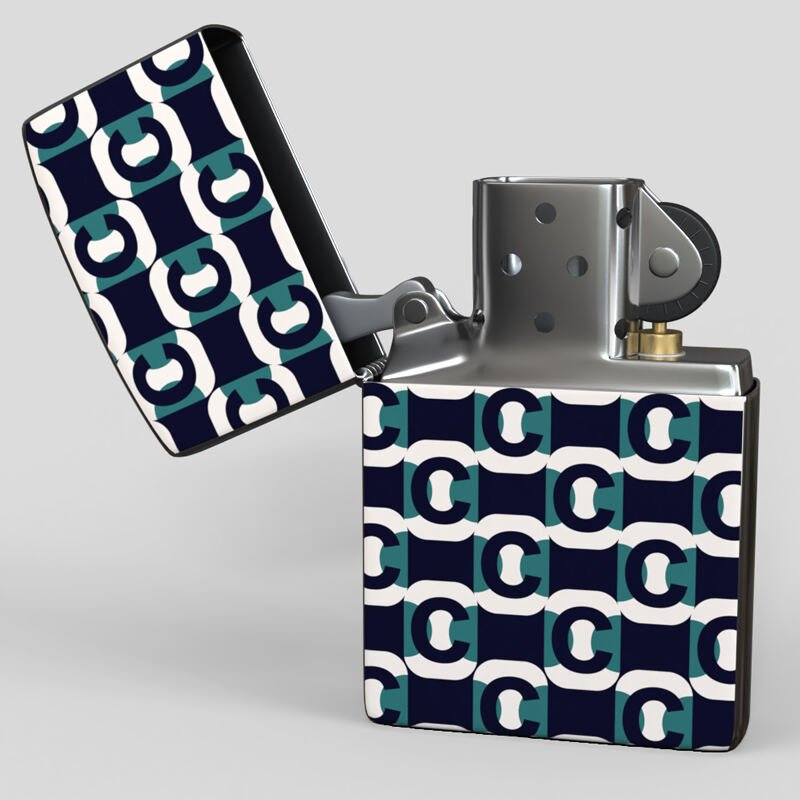 zippo printed lighter