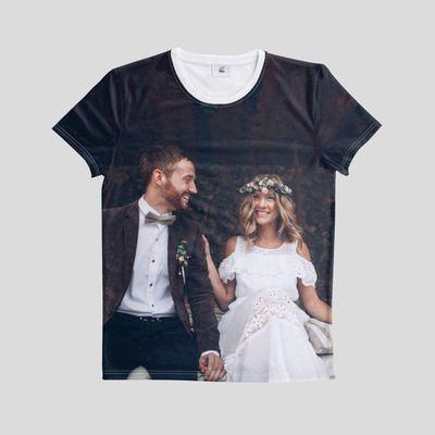 ge bort en personlig t-shirt på alla hjärtans dag
