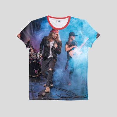 personalized band shirts