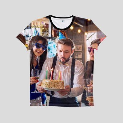 designa egen t-shirt till födelsedagen