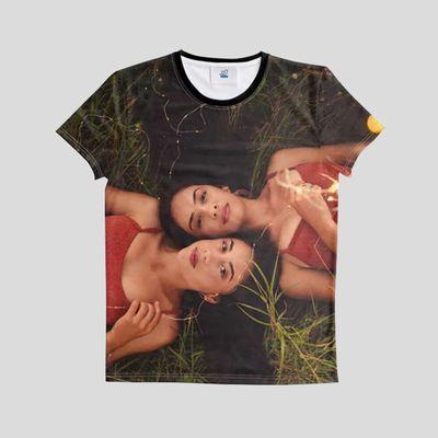 T-Shirt mit Fotodruck