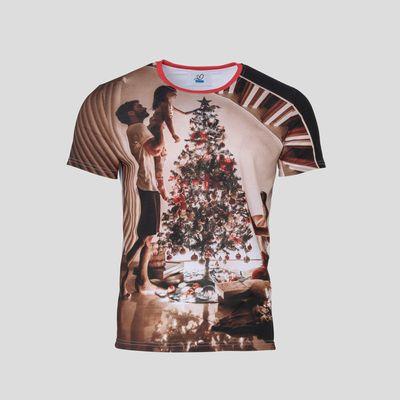 Personlig t-shirt för julen